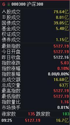今日沪深300竞价数据一览